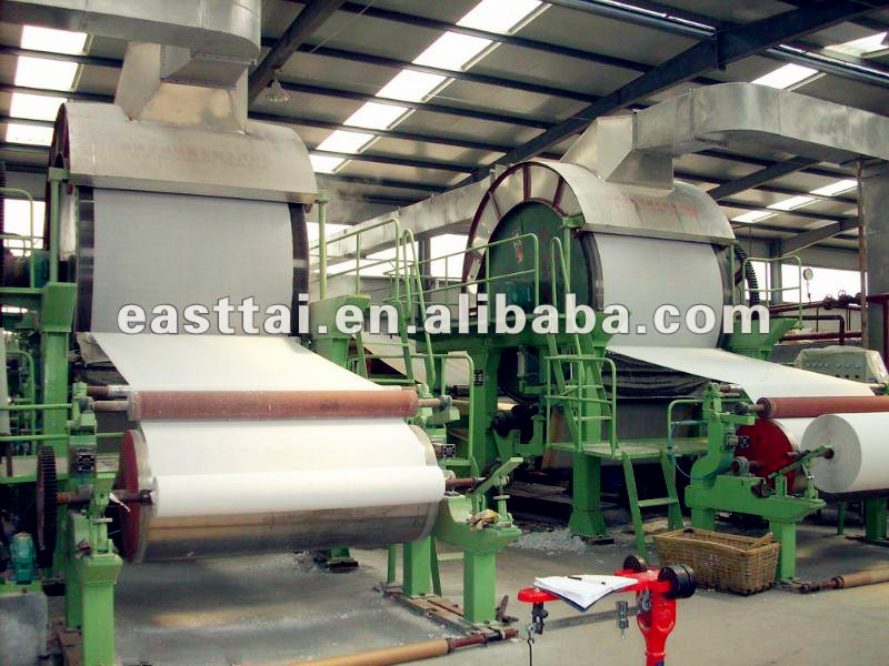5T/D toilet paper making machinery/waste paper as raw material/complete tissue paper machine supplier