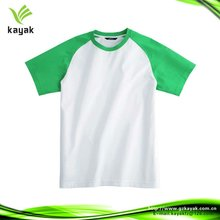 2012 popular plain round neck t shirt, with customized printed or embroided logo