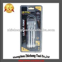 7Pc Computer Repair Floding Hex Key Set