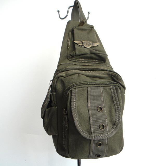 F73(army green) wholesale designer Travel Bag,Close-Fitting Waist, Cyclist Waist Bag,material:canvas,20x25cm,free shipping!