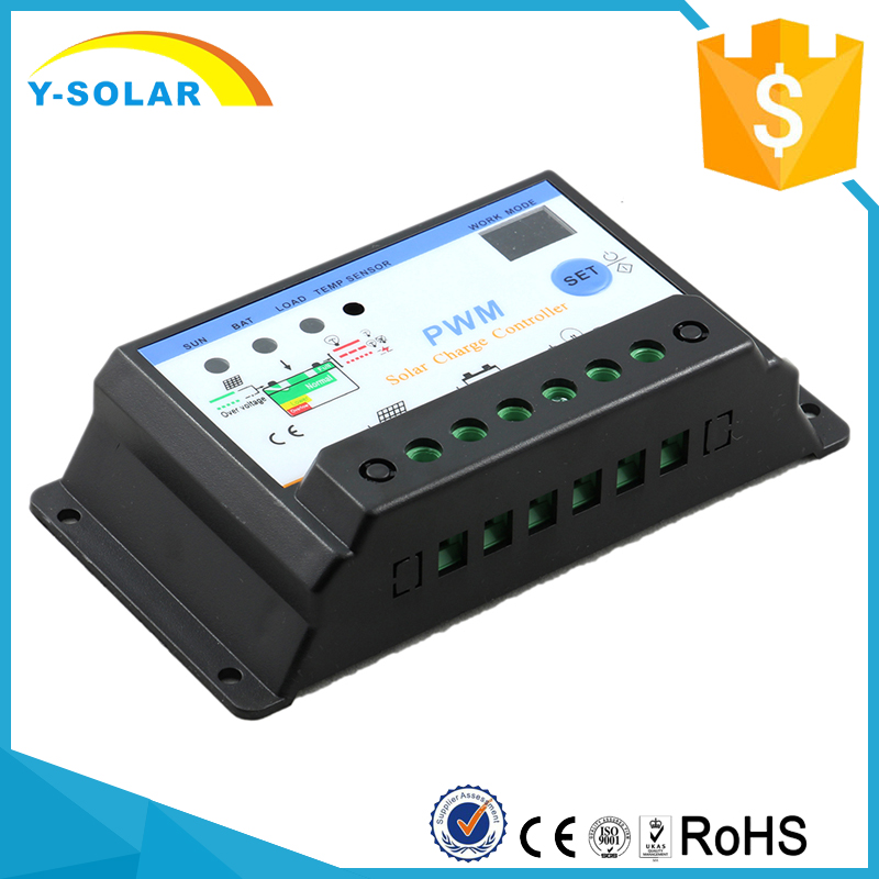 Y-SOLAR S30I 30A Solar Charge Controller Settable Solar Panel Charger Controller GEL Battery Charger Flooded Sealed Batteries