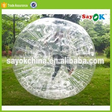 roll inside inflatable baby kid size human hamster ball in pool