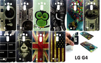 New camera dollars flag printing Flower TPU Case Cover for LG G4