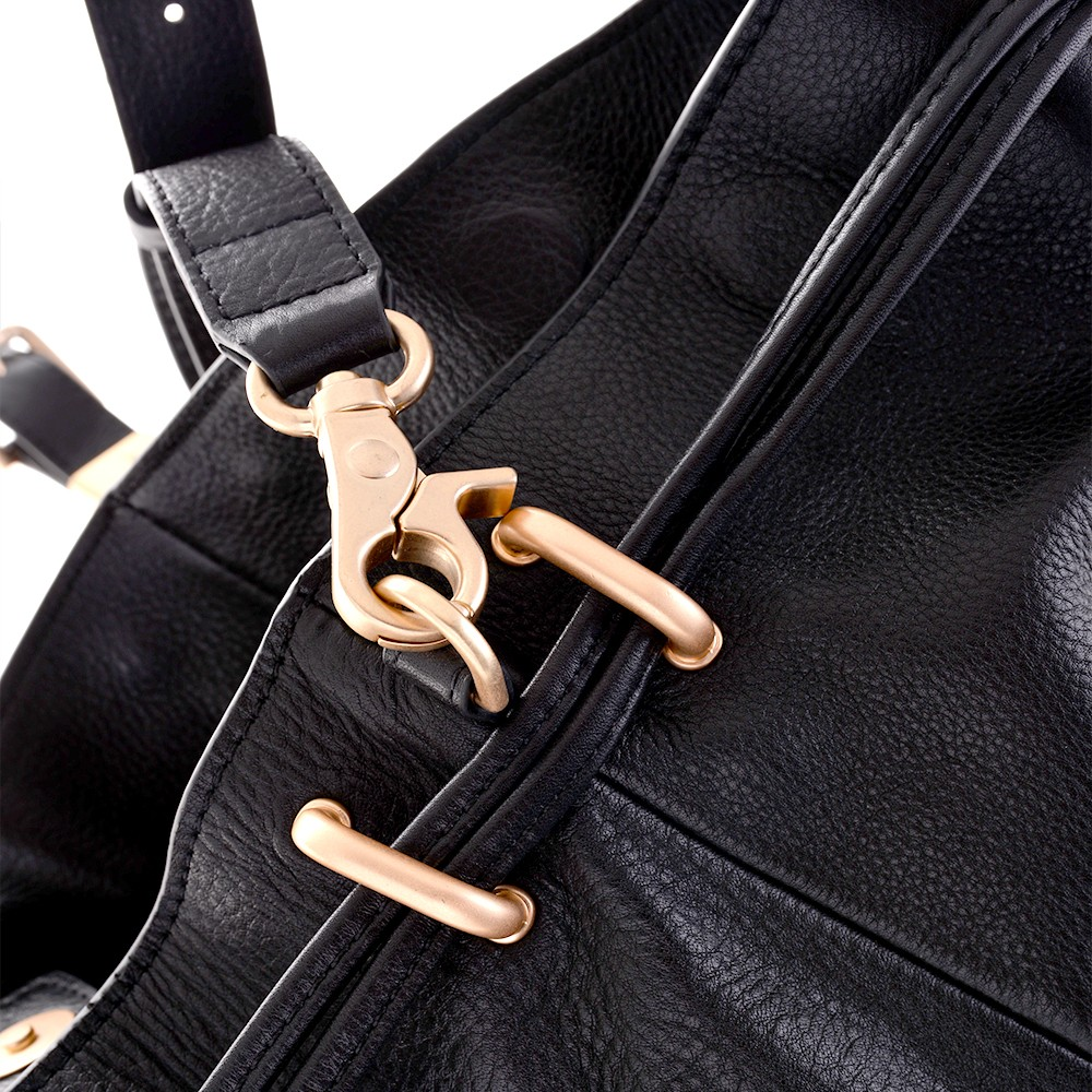 Hot sale fashion genuine leather knapsack tassel bag