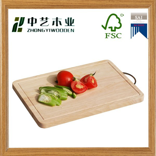 heathly type one piece bamboo chopping board