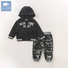 DB6201 dave bella autumn infant baby boys fashion clothing sets kids toddler outfits children hight quality clothing suits