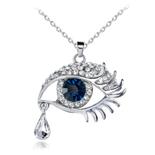 Hawk eye Design Gold Plated Necklace For Women Fashion Jewelry