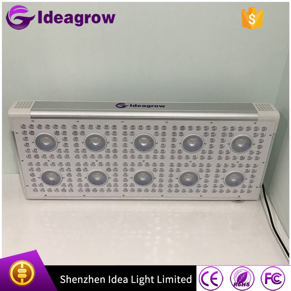 2016 plant tissue culture 7 band 660nm 450nm blue 1000w led grow light