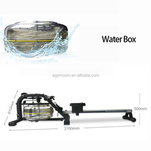 Water Rowing Machine Indoor Gym Equipment Fitness Simulated Boating Machine Wholesale
