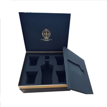 Custom retail safety luxury wine glass box with your own logo