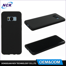 MOQ=100pcs free sample pc shell custom silicone mobile phone cover for samsung galaxy s8 case