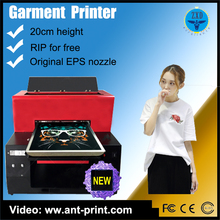 Best Quality A3 size dtg Socks Clothing Printign Machine Used Digital t-shirt Printer