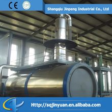 Waste Tyre Pyrolysis Oil Refining Machine to Non-standard diesel