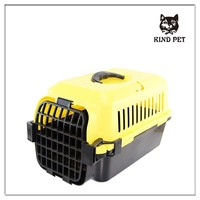 high quality pet transportation box plastic dog carrier