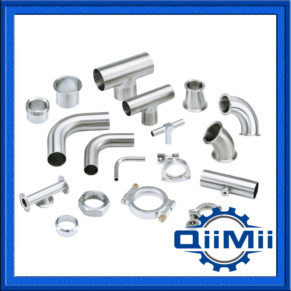 Sanitary, Stainless Steel Pipe Fittings in accordance of different standards