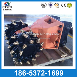 China manufacturer 5-20ton small excavator drum cutter for sales