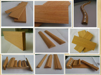 linyi biggest supplier thin wood molding