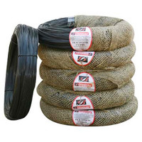 woven bag packing black annealed wire