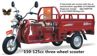 125cc cargo 3 wheel scooter tuk tuk