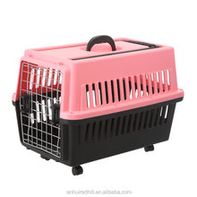 2016 new hot sale large plastic cat pet carrier