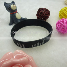 2012 hot sale personalized printed silicone bracelet for promotional gift