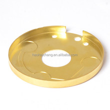 Snap action thermostat OEM high quality 0.8mm heat sink brass flange cover