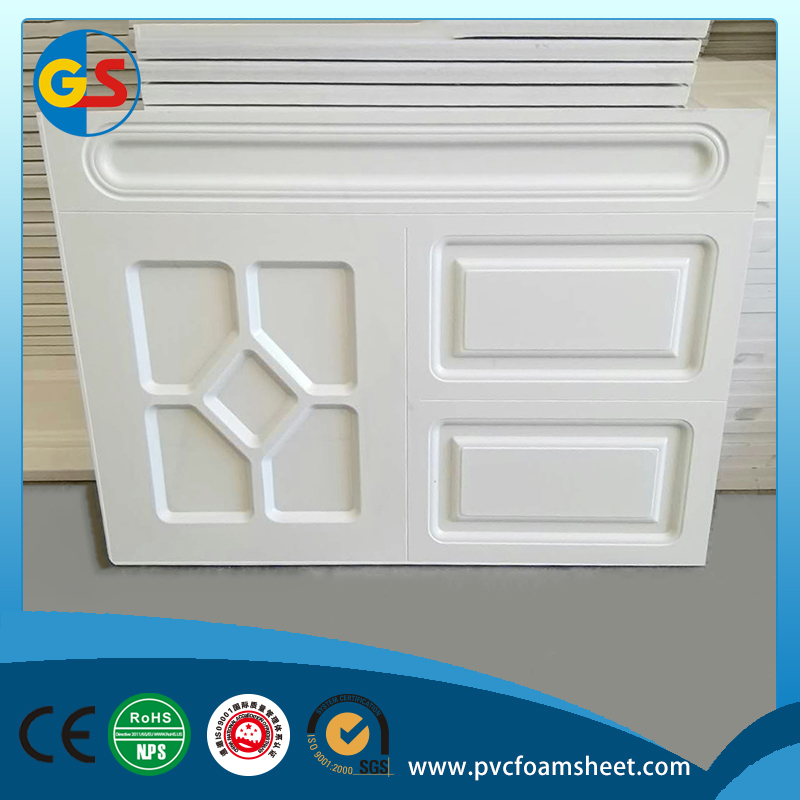 pvc foam board for buiding materials pvc embossed sheet