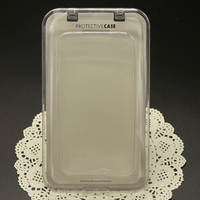 For Samsung Galaxy Note 2 Size iPhone 5 Phone Case Cover Flip Crystal Plastic Packagine Box