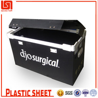 China Seastar recycled black corrugated boxes