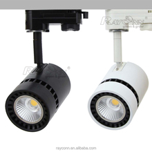 residential lighting wall ceiling mounted dimmable led track spotlight