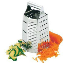 stainless steel multi-functional Grater,six sides vegetable grater, kitchen grater as seen on tv