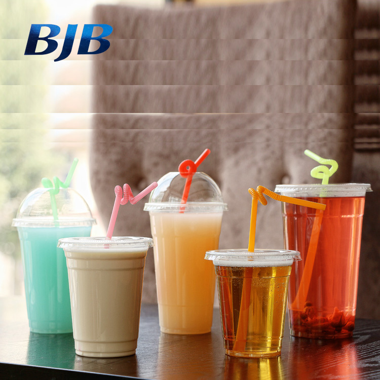 clear disposable cold beverage pet cup food packaging plastic cup
