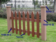 Outdoor furniture Composite hoh ecotech railing wpc picket fencing