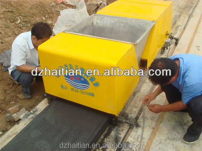 HQJ240x280x2 lightweight hollow core heat preservation building blocks wall making machine