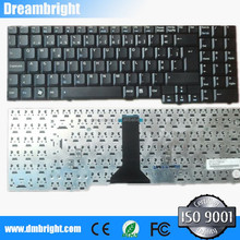 Notebook keyboard black for ASUS F7