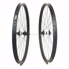 HULKSPORTS 29er carbon mtb wheels 30mm width for XC mountain bike dt swiss DT 350 center lock
