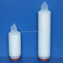 Parker replacement Hydrophillic PTFE membrane filter pleated membrane filter for mineral water/ozone water