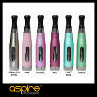 Stainless Steel and glass Cartomizer Huge Vapor Aspire CE5-S BDC in Stock