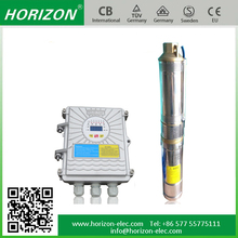 High lift head 24vdc centrifugal submersible solar water pump
