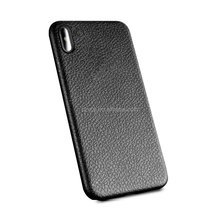 Litchi grain soft TPU gel rubber mobile phone case cover for iphone X