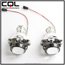 1.8inch Mini motorcycle hid projector headlights factory price H1/H4/H7 6000K 35W/55W headlight