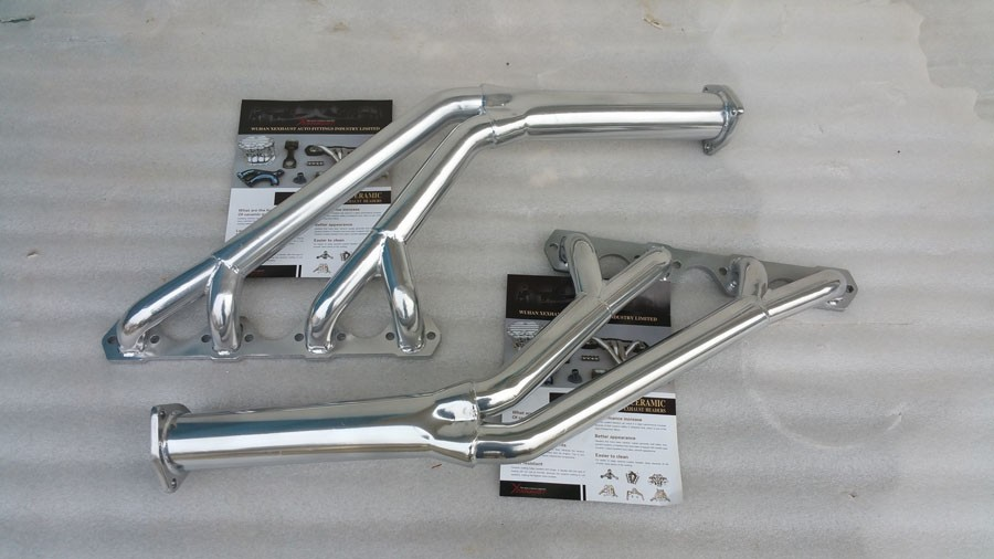 exhaust ceramic coating headers manifold header pipe Tri-Y Full Length Exhaust header for Ford Mercury