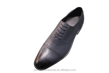 Wholesale online retail man european trendy genuine cowhide leather men dress shoes new italy design formal grey shoes