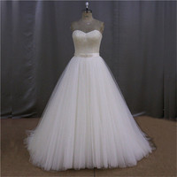 cap sleeve ruffle sheath wedding gowns with beading pattern motif