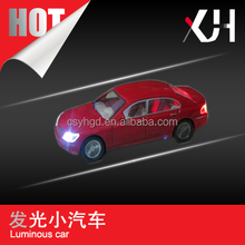 1:50 / 1:75 / 1:100 / 1:150 / 1:200 architectural scale plastic model car with light