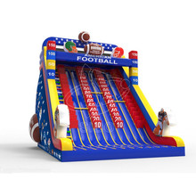 Arm climbing sport game inflatable water slide giant inflatable amusement park slide for sale