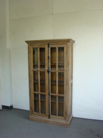 Antique vintage reclaimed wood cabinet