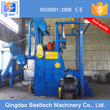 Q3220 crawler type shot blasting machine, sandblaster, wholesale cast iron hooks