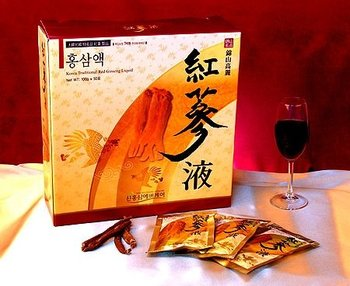 Red Ginseng Fluid silver 50