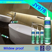 home decorations China rtv fungus & mildew resistant silicone adhesive the neutral silicone sealant